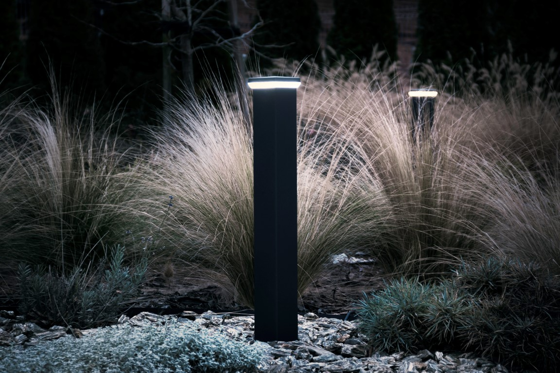 LED lamp op paal