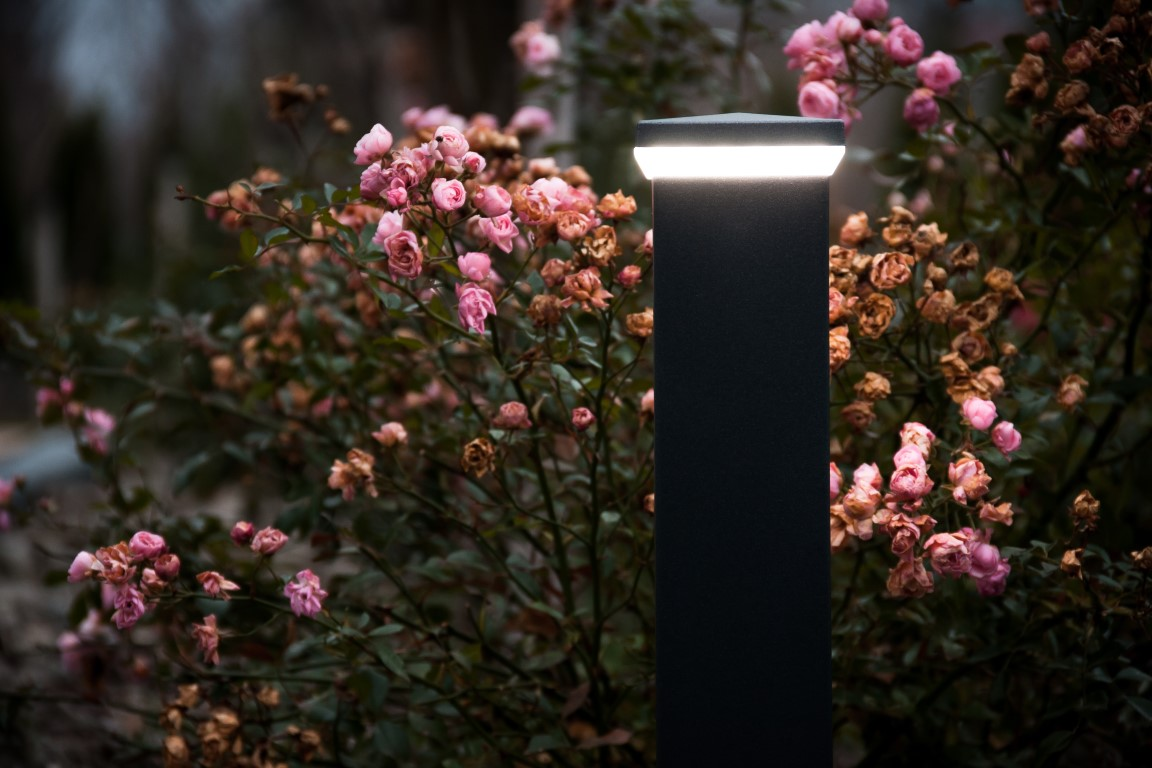 LED lamp met verlichting